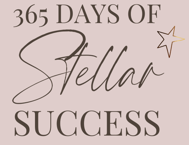Copy of 365 DAYS OF