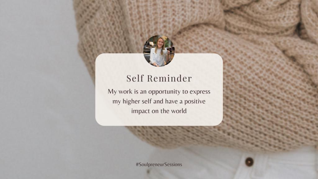 Am I A Soulpreneur